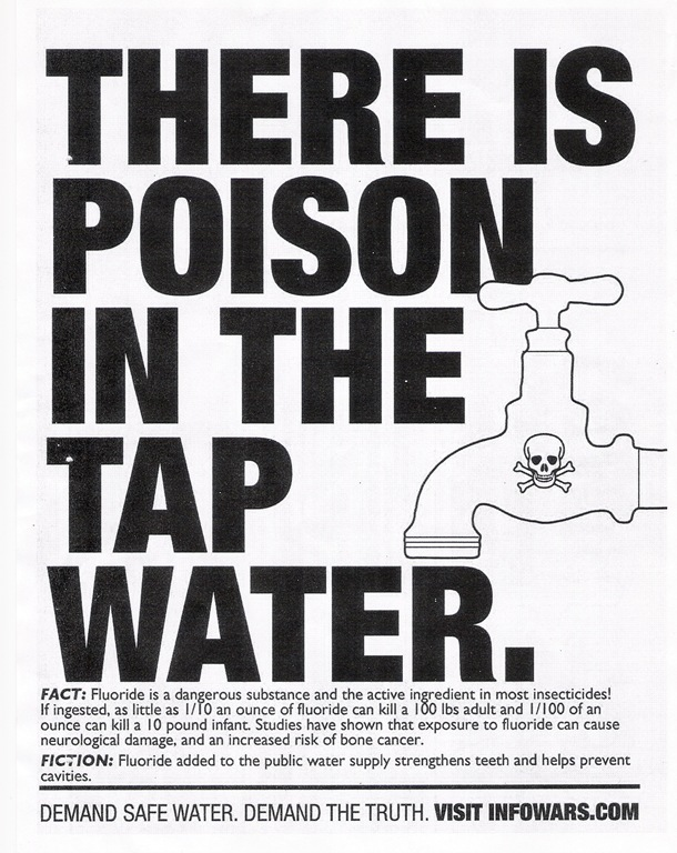 San Diegans for Safe Drinking Water Reject Fluoridation